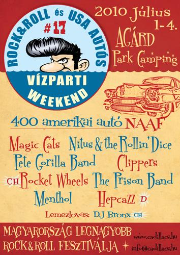 Lakeside Vízparti Rock & Roll és Amerikai Autós Weekend