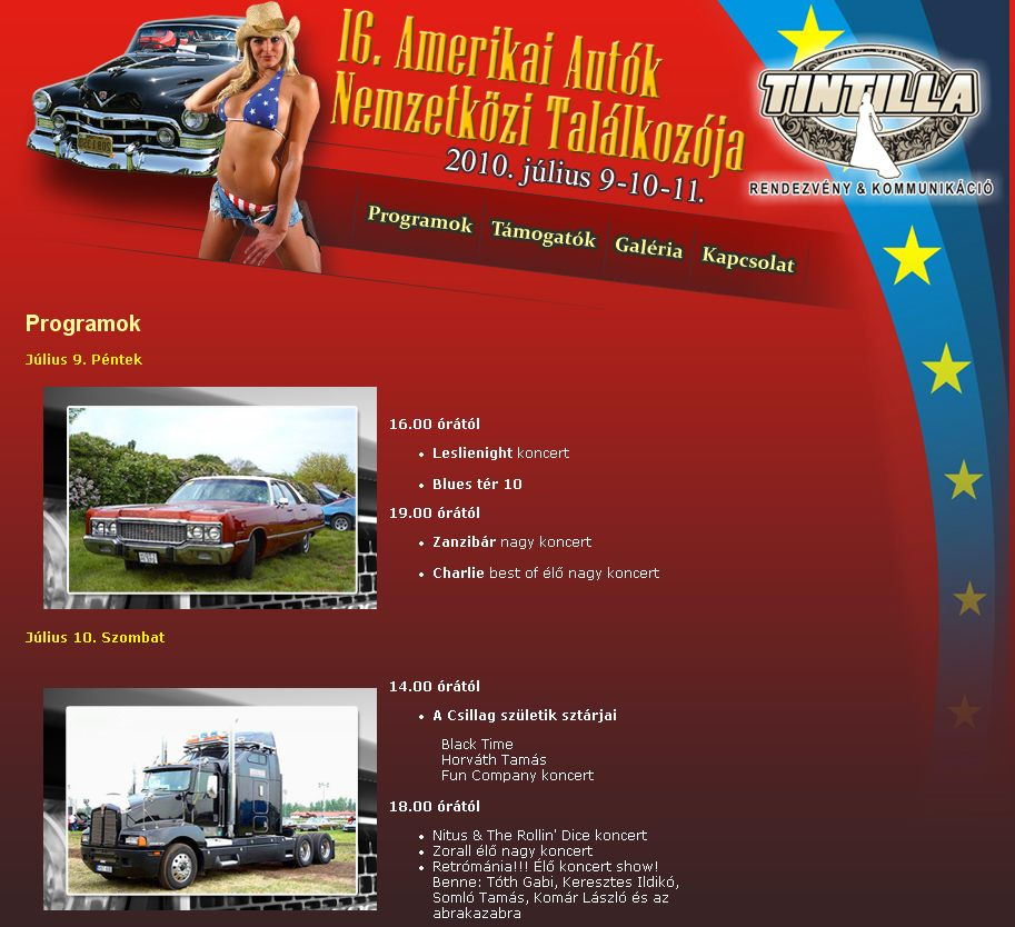 Amerikai Autó Találkozó - Dunaújváros