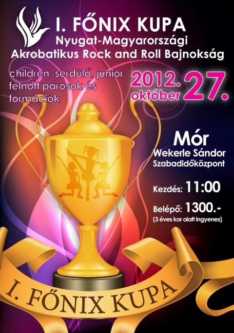 I. Főnix Kupa Nyugat Magyarországi Akrobatikus Rock and Roll Táncverseny - Mór - 2012. október 27.