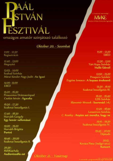 Paál István Fesztivál - Székesfehérvár - 2012. október 20-21
