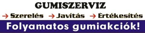 DHM Gumiszerviz, Gumiszerelés, Székesfehérvár
