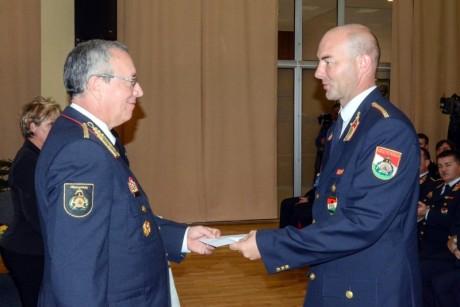 Orosz Csaba tűzoltó alezredes
