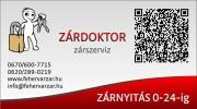 Zárdoktor - Zárszerviz - Székesfehérvár