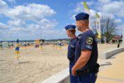Rendőr diákok a Velencei-tónál